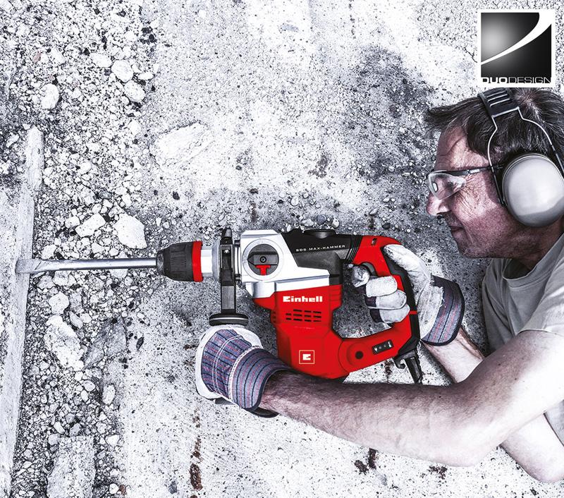 Einhell - Werbefotografie Bohrhammer