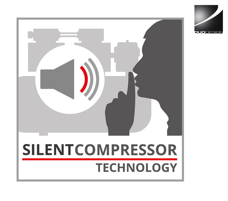 Einhell - Silent Kompressor Grafik